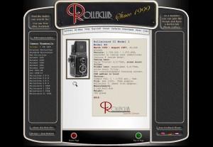 New Rolleiclub.com design